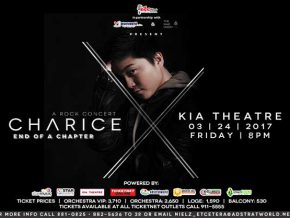 Charice X END of a Chapter Rock Concert