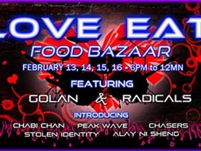 Valentine Food Bazaar in the South: LOVE Eat Food Bazaar