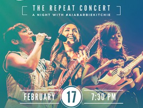 Aia, Barbie and Kitchie Join Forces for Repeat Concert