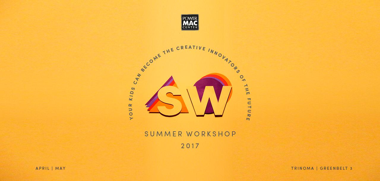 f45ab55b746aea Power Mac Center Summer Workshop for Kids 2017