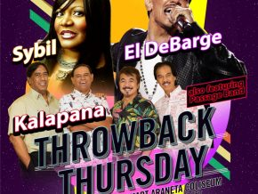 'THROWBACK THURSDAY' on April 27 at Big Dome