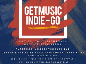 GETMUSIC INDIE-GO at the Mall of Asia Arena