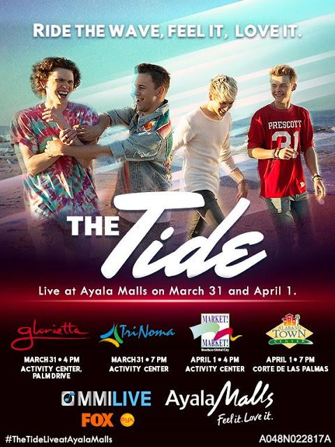 fb2a622c3bbaea The Tide LIVE at Ayala Malls 2017