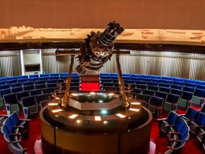 The National Museum launches its new full dome Planetarium projector