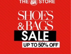 Get up to 50% off at SM Shoe & Bag Sale until March 31