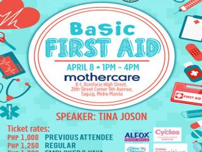 Basic Yaya Training: Basic First Aid 2017 on April 8 in BGC