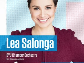 Lea Salonga with the BYU Chamber Orchestra on May 30