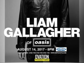 Oasis frontman, Liam Gallagher Live in Manila on Aug. 14