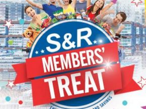 S&R Members' Treat is back this March 29 to April 2!
