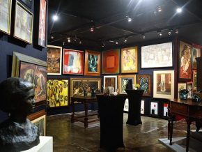 'Alfonso Ossorio: Grazing Light' at Leon Art Gallery April 21 to May 12