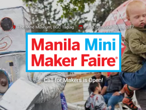 Manila Mini Maker Faire at The Mind Museum