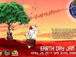 Earth Day Jam 2017 at Rizal Park, Manila