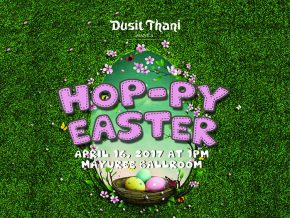 Have a Hop-py Easter Sunday at Dusit Thani Manila!