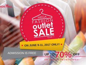 Mega Fashion Outlet Sale 2017 on June 9-11