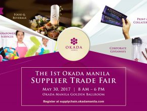 Okada Manila Supplier Trade Fair 2017