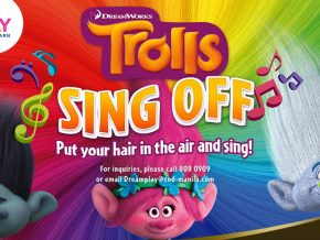 "DreamPlay holds first ""Trolls Sing Off"" for Children"