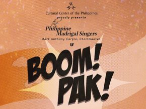 The Philippine Madrigal Singers in Boom! Pak!