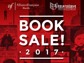 Alliance Française Book Sale 2017 from May 27 to June 3