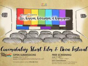Bahaghari presents CineMakulay Film Festival 2017