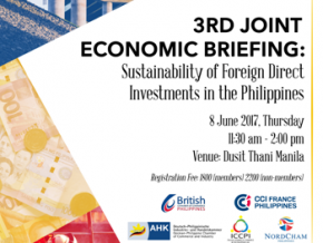 3rd Joint Economic Briefing: Sustainability of Foreign Direct Investments