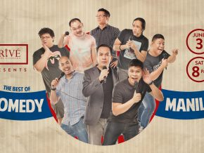 The Best of Comedy Manila at Prive Luxury Club