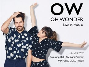 Oh Wonder in Manila