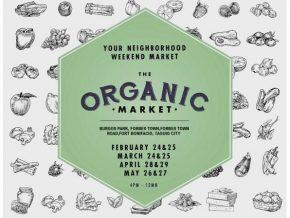 The Organic Market at Burgos Park in Taguig