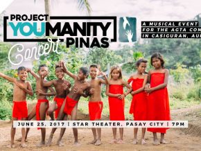 Project YOUmanity Pinas Concert in Manila
