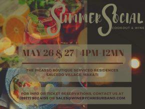 Summer Social: Cookout & Wine Pop Up