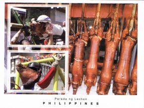 'Parada Ng Lechon' or Roasted Pig Parade in Balayan, Batangas