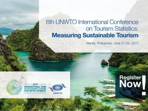 6th UNWTO Conference on Tourism Statistics on June 21-24