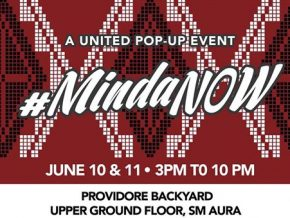 #MindaNOW: A United Pop-Up Benefit at SM Aura