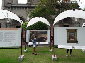 """The Prado visits the Philippines"" exhibition at the Plaza Roma, Intramuros"