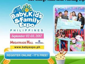 6th Baby, Kids, and Family Expo on Sept. 2-3 at SM Megamall