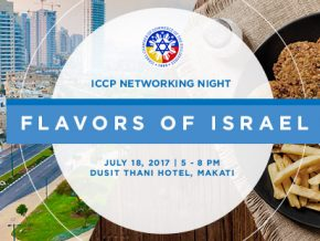 Flavors of Israel: ICCP Networking Night in Dusit Thani Hotel, Manila