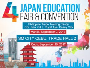 4th Japan Education Fair and Convention on Sept. 9 and 10