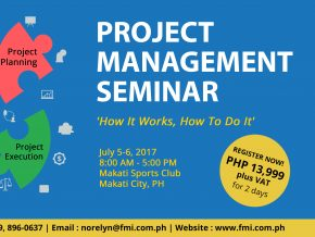 Project Management Seminar on July 5-6