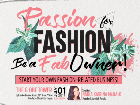 Passion for Fashion: Be a FAB Owner! On July 1