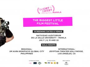 Short + Sweet Film Fest in Manila is still open for submissions!