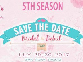 Save The Date Bridal and Debut Fair on July 29-30