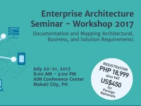 Enterprise Architecture Seminar-Workshop 2017