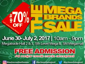 The 19th MegaBrands Sale: Back-to-school discounts at MCTI's Mid-Year Sale