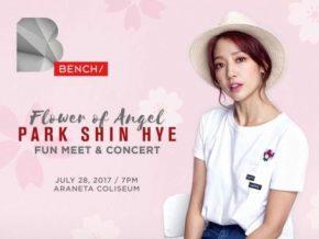 Flower of Angel: Park Shin Hye Returns to Manila