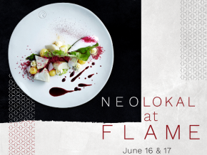 Chef Maksut Aşkar of Neolokal at FLAME Restaurant this June 16 and 17