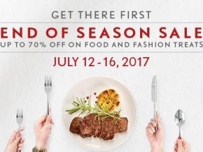 The Podium's End of Season Sale on July 12-16