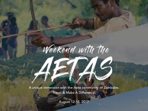 World Indigenous Day: Weekend with the Aetas