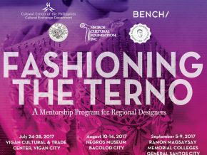 FASHIONING THE TERNO: A mentorship program for regional designers