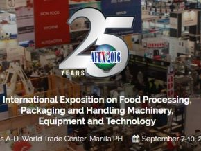Asia Food Expo on September 7-10, 2017