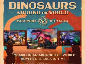 Dinosaurs Around the World come alive at The Mind Museum!