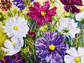 Flowers Abloom, A Flower Painting Exhibit by Elizabeth Payte
